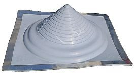 metal roof pipe flashing 501 goof boot - Metal Roof Flashing