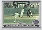 2004 Topps World Series Highlights (Carl Yastrzemski (Baseball Card) 2004 Topps - World Series Highlights #WS-CY)