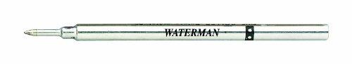 Waterman ricarica penna roller inchiostro, sottile, nera S0112670