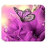flowers-butterflies-customized-rectangle-office-mousepad