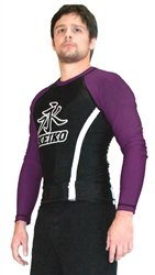 Speed Rashguard L/S - Purple - Small