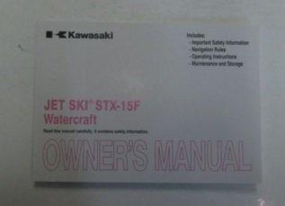- 2013 Kawasaki JET SKI STX-15F Watercraft JT1500AD Owners Owner Operators Manual