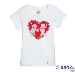 - Valentine Kinz Clothes Tee Small by Webkinz