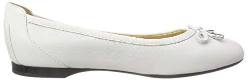 Geox white D Mujer Para Bailarinas D Blanco Lamulay rBwqzrxU