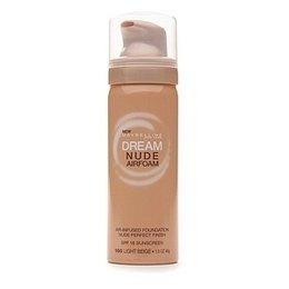 (2 Pack) Maybelline New York Dream Nude Airfoam Foundation, 160 Light Beige, 1.6 Oz