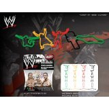 WWE Superstars Series 1 Logo Bandz Bracelets Which *Includes Edge, Ray Mysterio & Randy Orton* by Forever Collectibles + Free ''Forever Carabina'' To Carry Your WWE Bandz...In STOCK!!!