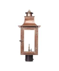 "picture of Maryville Gas Post Lantern 23"" H x 9.5"" W"