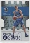 Dirk Nowitzki #197/199 (Basketball Card) 2016-17 Panini Excalibur - Storm the Castle - Blue #6