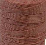 Waxed Irish Linen Crawford Cord 3 Ply 10 Yards SALMON by Crawford Threads (Irish Salmon)