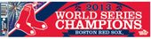Boston Red Sox Official MLB 3 inch x 12 inch Bumper Sticker by Wincraft by WinCraft