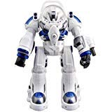 (Bestoying Spaceman RC Robot With Shoots Soft Rubber Missiles, Flashing Lights and Sound, Walking Talking and Dancing)