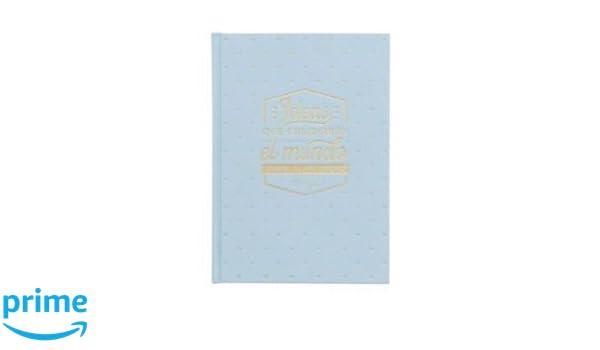 Mr Wonderful AS8435460718882 - Libreta con diseño Ideas que cambiaran el mundo: Amazon.es: Oficina y papelería