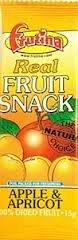 Frutina Apricot & Apple Fruit Bar 15g (Order 24 For 1 Box)