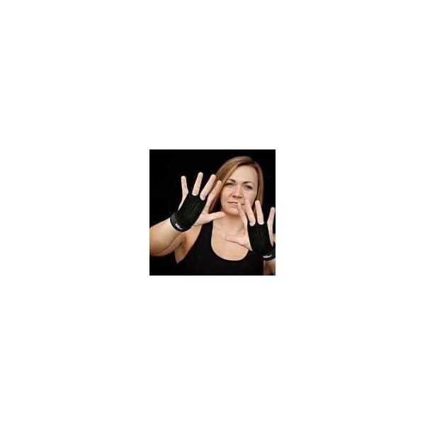 55789d031c042 Bear KompleX 2 Hole Leather Hand Grips for Gymnastics & Crossfit ...