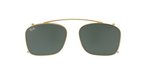 Ray-Ban Men's RX7131C Eyeglasses Gold / Green - Sunglasses Clip Ray On Ban