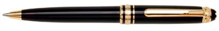Mont Blanc Meisterstuck 75th Anniversary Special Edition Ballpoint Pen 164 Black 75362]()