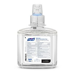 Purell(R) Professional Advanced Unscented Foam Hand Sanitizer Refill, ES6, 40.58 Oz