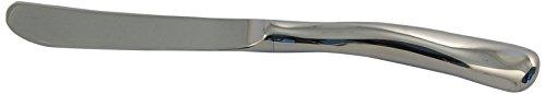 Dessert Knife Hollow Handle (Ginkgo International Sea Drift Stainless Steel Hollow Handle Dessert Knife)