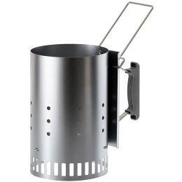 Weber Anzünd-Set 1013 (Anzündkamin, Anzündwürfel, Premium-Briketts)