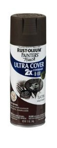 (Painter's Touch® 2XTM 12 Oz Espresso Cover Spray Paint Satin [Set of 6] by Painter's)