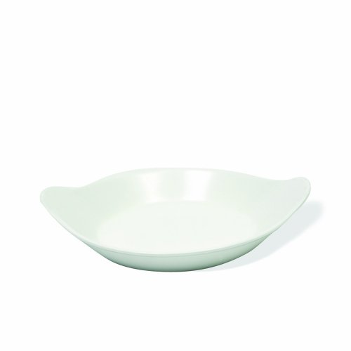 Maxwell and Williams P017326 Basics Oval Au Gratin Dish, 8-Inch, White