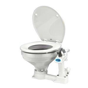 Jabsco Flojet Twist 'n' Lock Manual Toilet, White