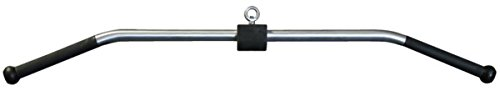 American Barbell USA-Made High Strength Aluminum 48'' Solid Lat Pulldown Cable Attachment with Urethane Handles by Ironcompany.com