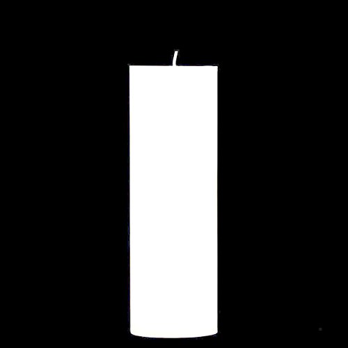 Fantastic Deals Town White Unscented 3x9 inch Pillar Candle