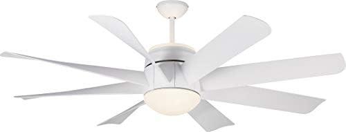 Monte Carlo 8TNR56RZWD-V1 Turbine Ultra-Modern 56″ Ceiling Fan