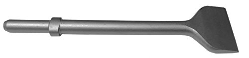 Champion Chisel, 12-Inch Long by 3-Inch Wide .680 Round Shank Oval Collar Chipping Hammer Chisel