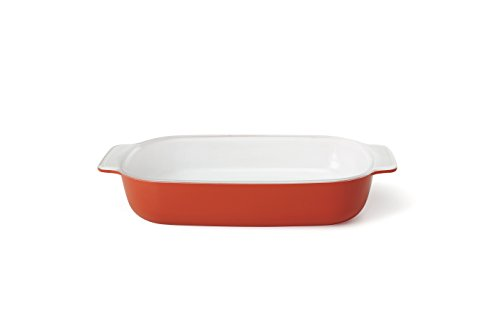 Creo SmartGlass Baking Dish, 1-Quart, Shanghai Red