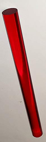 Red Acrylic Rods - 1