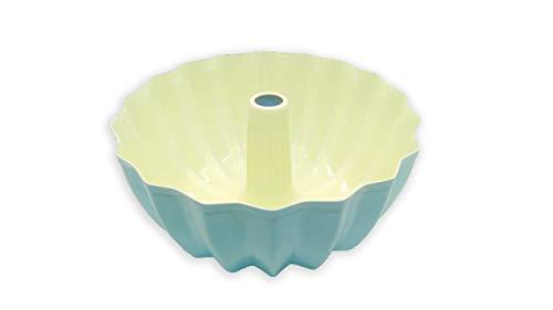 StyleMbro Kugelhopf Pan Ceramic Gugelhupf Bundt Mold 9-inch Nonstick for Oven Baking -