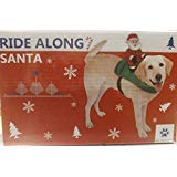 - BBBMex Ride Along Santa Costume For Medium Size Dogs
