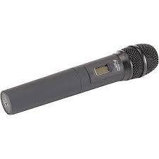 (Azden 35HT 188 Frequency Handheld Microphone with Built-in Transmitter for 305UPR/325UPR Receivers )