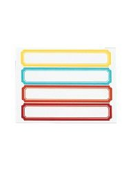 """Permanent File Folder Labels , Assorted, 9/16"""" X 3-1/2"""", Pack of 120 - Martha Stewart Home Office with Avery"""