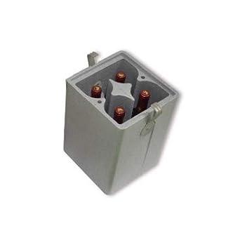 Envase Nevera para Botellas 4 cavidades (Pack 5 Unid.): Amazon.es ...