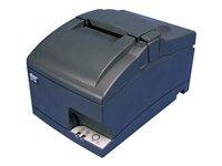 Supply Included Rewinder Power (Star Micronics 37999400 Model SP742MU Impact Friction Printer, Cutter, USB, Internal Power Supply Included, Rewinder/Journal, Gray)