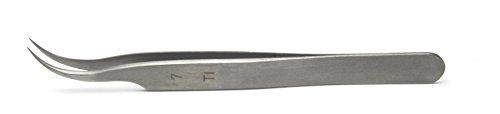 12cm Straight Dumont #7 Tweezers Titanium