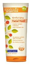 Freeman Good Stuff Organics Revitalizing Facial Mask, Pumpkin Enzymes & Vitamin C 6 fl oz (150 ml)