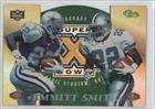 Nfl Experience Bowl Super (Emmitt Smith (Football Card) 1996 Classic NFL Experience - Super Bowl XXX Die-Cuts Show Promos #6C)