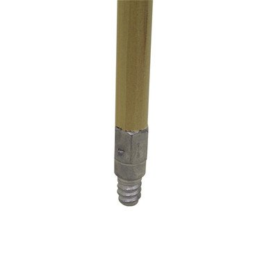 60'' Wood Handle w/Metal Threads (Pack of 12) by NexStep Commercial