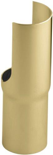 (Kohler K-7709-PB Console Table Shroud, Vibrant Polished Brass)