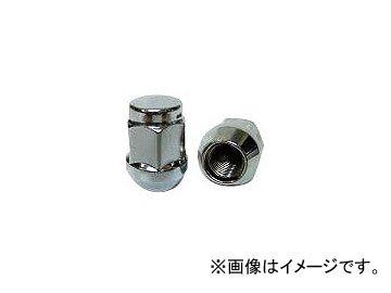 チップトップ 袋メッキナット ツバ付 19H M12×1.25 31mm N-14 入数:1セット(100個) B01MR7MH0R