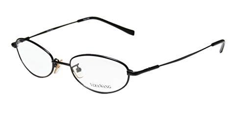 (Vera Wang V01 Womens/Ladies Prescription Ready Celebrity Style Oval Full-rim Eyeglasses/Eye Glasses (49-17-135,)