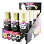 Party Crazy 210ml Lacquer Spray - Gold