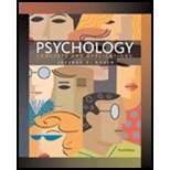 Psychology : Concepts and Applications, Jeffrey S. Nevid, 0547223889