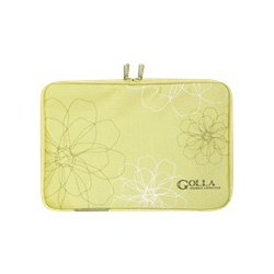 Golla G614 Carrying Case (Sleeve) for Notebook - Lime Green - Polyester