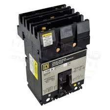 1- Square D FH36060 60A, 3P Circuit Breaker 600V Type FA Schneider I-Line