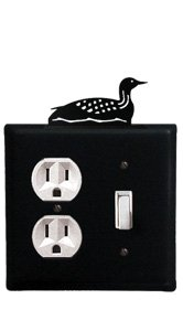 8 Inch Loon Single Outlet and Switch ()